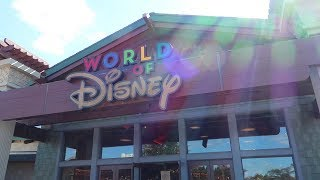 World Of Disney Store Now Open At Disney Springs & A Quick Construction Update!