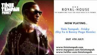 Watch Tinie Tempah Frisky video