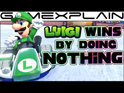 Luigi Wins by Doing Absolutely Nothing - Mario Kart 8 Deluxe