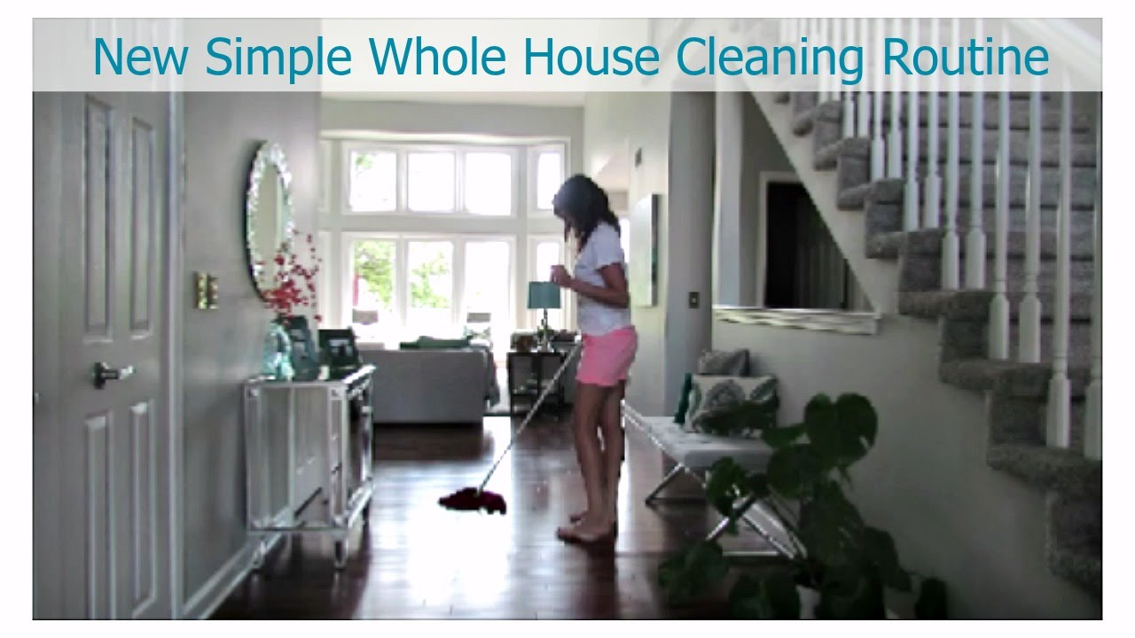 My New Whole House Cleaning Routine   Clean with Me Vlog Style   Cleaning Motivation