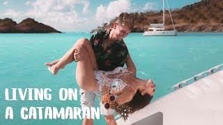 Sailing a Catamaran in the Caribbean with SLV