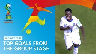 Top Goals From The Group Stage - FIFA U17 World Cup 2019 ™