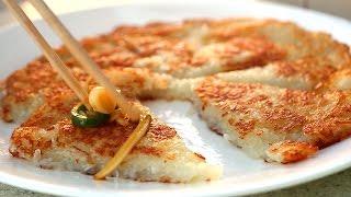 Simple potato pancake (Gamjajeon: 감자전)