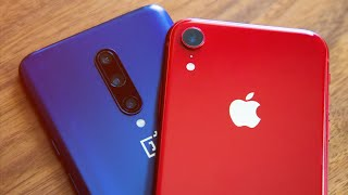 iPhone XR vs OnePlus 7 Pro: Slicing into Apple