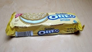 Golden Oreo - smile