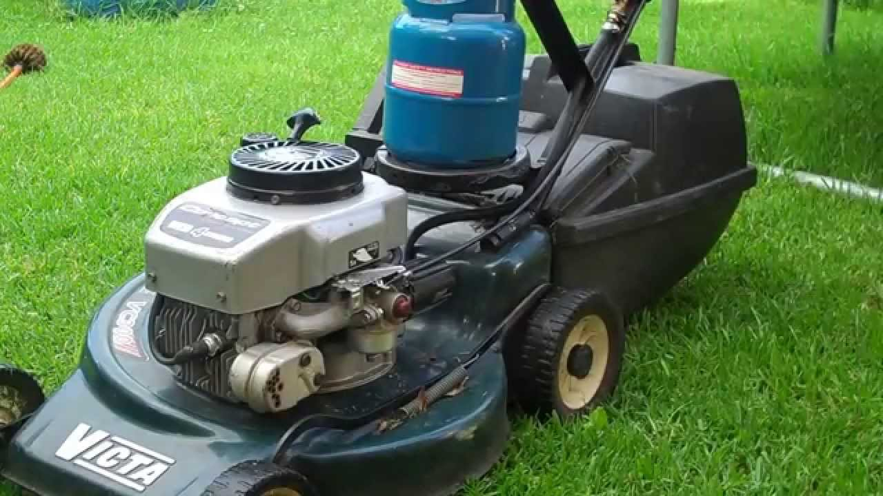 How To Convert A Lawn Mower From Gas Petrol To Propane