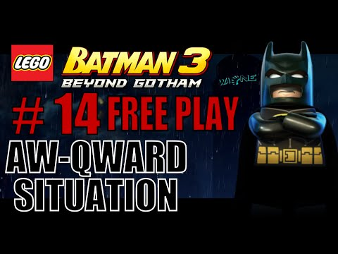 Lego Batman 3 Aw-Qward Situation - 100% (All Minikits, Adam West, Collectibles and Characters)
