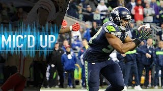"""Bobby Wagner Mic'd Up vs. 49ers """"I had to get a pick-6 in front of you!""""   NFL Films"""