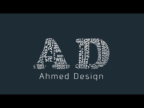 How to Make Typography Text Easily || Photoshop CC Tutorial