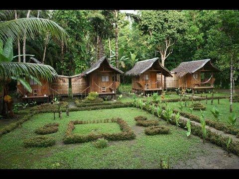 Nipa Hut Village At Loboc River Philippines Youtube