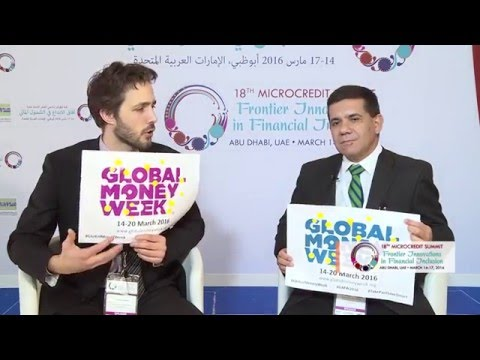 Global Money Week at the 18th Microcredit Summit with Luis Fernando Sanabria