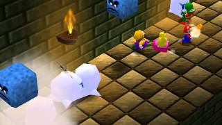 Mario Party Netplay Minigame: Running of the Bulb