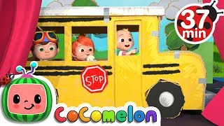 Wheels on the Bus 2 | +More Nursery Rhymes & Kids Songs - CoCoMelon