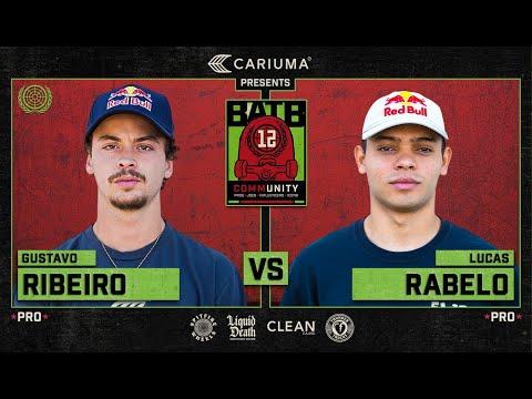 BATB 12: Gustavo Ribeiro Vs. Lucas Rabelo - Round 1