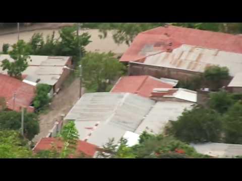 MATAGALPA NICARAGUA. DESDE EL MIRADOR EL CALVARIO. 7 ENERO 2014.