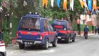 Cumhurbaşkanı Erdoğan'ın Çorlu'da düzenleneceği miting öncesi hazırlıklar tamamlandı