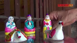 Thuận Thành: Ý nghĩa của bộ Phỗng bằng đất sét trong mâm cỗ Rằm Trung thu