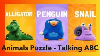 Animals Puzzle - Talking ABC | English by Hey-Clay.com Best HD Apps Demo