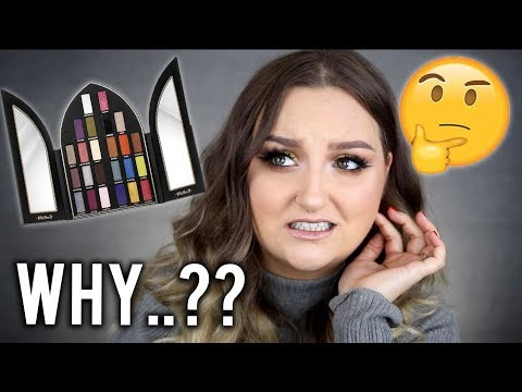 BUT..WHY..?   KAT VON D SAINT & SINNER PALETTE REVIEW. SWATCHES + TUTORIAL
