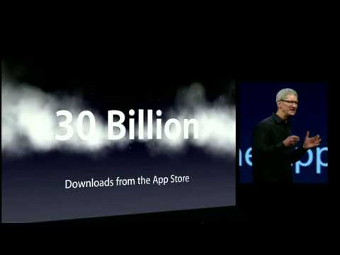 Tim Cook Introduction WWDC 2012