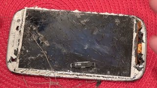 Truth About Gorilla Glass (Ultimate Galaxy SIII Destruction!!!) *REPAIR VIDEO IN DESCRIPTION!!!*