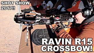 Ravin R15 Crossbow! SHOT Show 2017