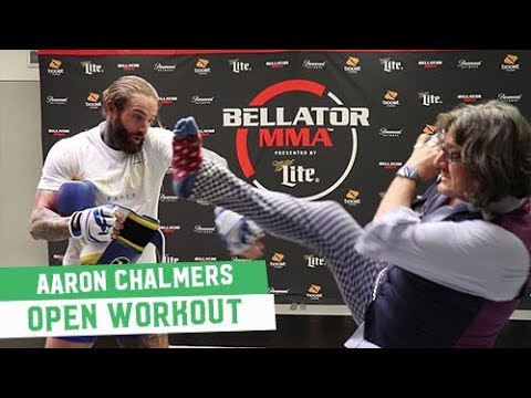 Bellator 200 Open Workouts: Aaron Chalmers