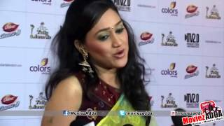 Disha Vakani @ 2013 Indian Telly Awards