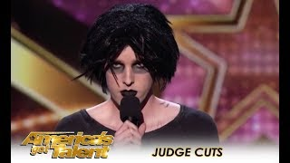Oliver Graves: Dark Comedian Is a New Kind Of HILARIOUS! | America's Got Talent 2018