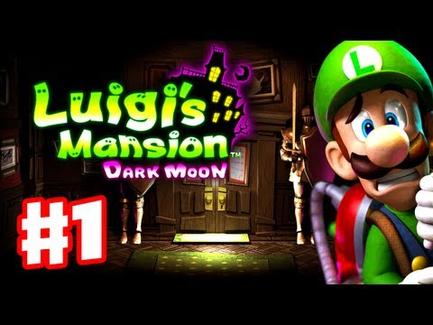Luigi s Mansion Dark Moon - Gameplay Walkthrough Part 1 - A-1 Poltergust 5000 (Nintendo 3DS)