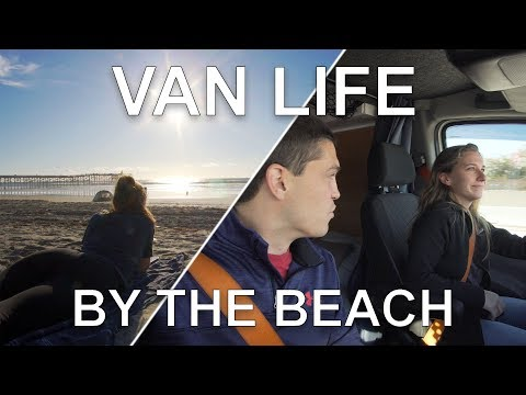 Van Life By The Beach Living on the Road