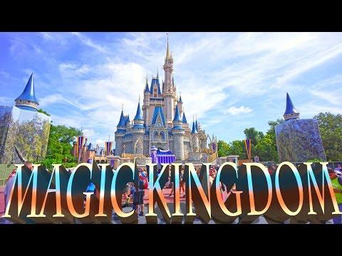 Magic Kingdom - Walt Disney World , Orlando 2016 HD
