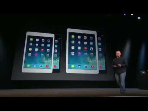 Full Apple iPad Air & Mac Pro Keynote October 2013