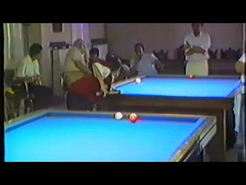 Campeonato de España Juvenil de Billar, Libre. Santander 1989 (Resumen Daniel Sánchez)