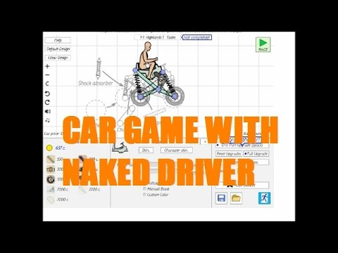 Car Game with Naked Driver?! (Dream Car Racing 2 Part 1)
