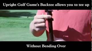 Upright Golf Joe's Original BackTee