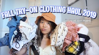FALL TRY-ON CLOTHING HAUL *warning, its a bit of a thiccy*