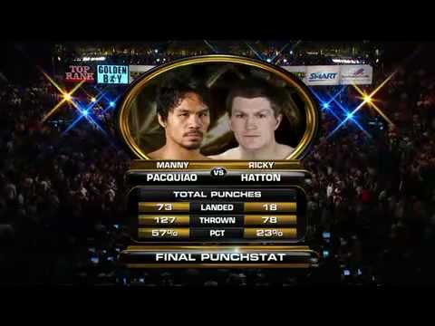 manny pacquiao vs ricky hatton [HQ]