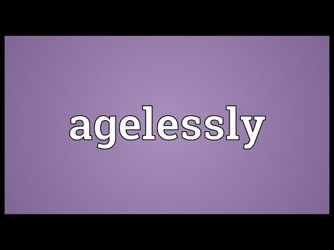 Header of Agelessly