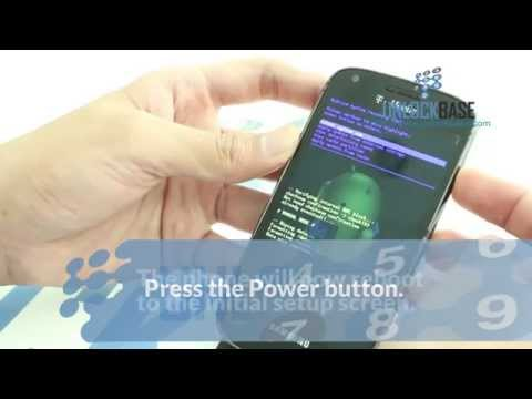 How to Hard Reset your Samsung Galaxy S Blaze 4G (T769)