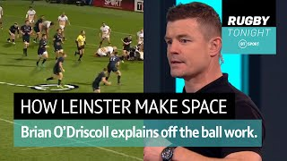 Demo: How Leinster work off the ball to create space | Rugby Tonight
