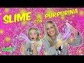 SLIME CON PURPURINA | Hacemos Slime con Brillo - Daniela DivertiGuay