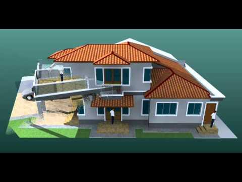 Pelan Banglo 1 Tingkat - Gambaran 3D Banglo 1 tingkat
