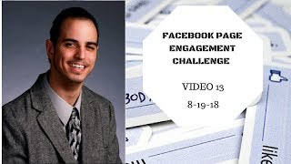 Facebook Page Engagement Challenge Vid 13 - Network Affiliate Or e-Commerce Marketing