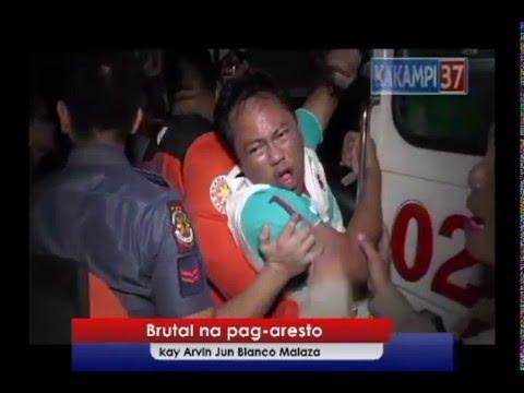 Brutal arrest of broadcaster  sa Digos