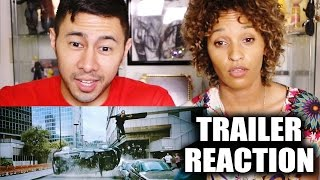 RA ONE Trailer Reaction by Jaby & M3tal Jess!