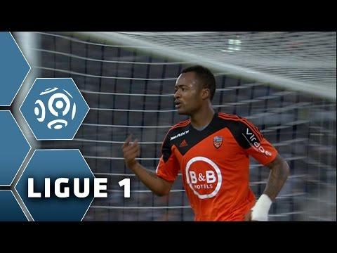 But Jordan AYEW (84') / Olympique de Marseille - FC Lorient (3-5) -  (OM - FCL) / 2014-15