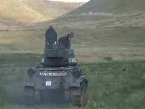 Machine Gun Firing Range and Tank Ride at Sturgis Bike Week