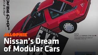 The Nissan Pulsar NX Sportbak and the Modular Dream