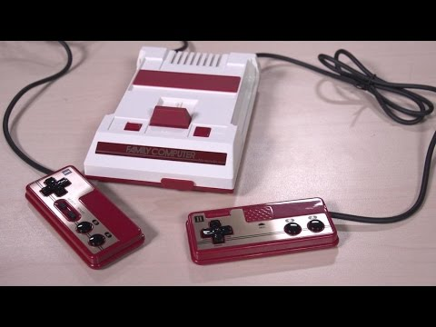 Unboxing Japan's Famicom Classic Mini